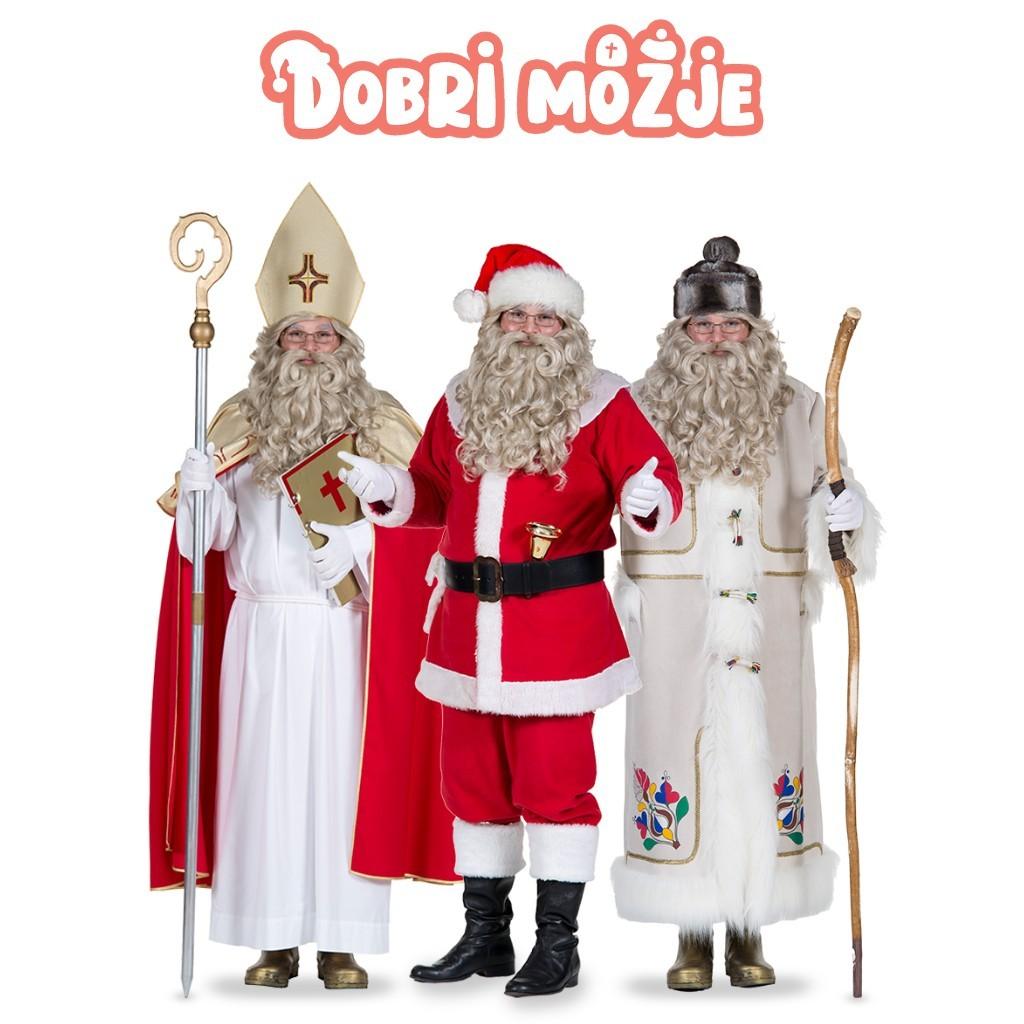 Unikatno video sporočilo Božička, Dedka Mraza ali Miklavža