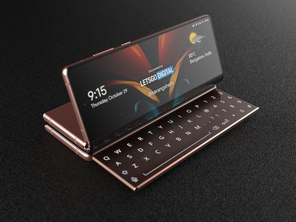 Nov prepogljivi zaslon pametnega telefona podjetja Samsung naj bi se zložil na tri dele.