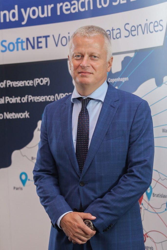 Andrej Boštjančič, direktor podjetja Omrežje