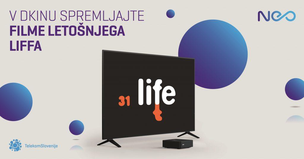 Filmi letošnjega festivala Liffe so na voljo tudi naročnikom televizije Telekoma Slovenije