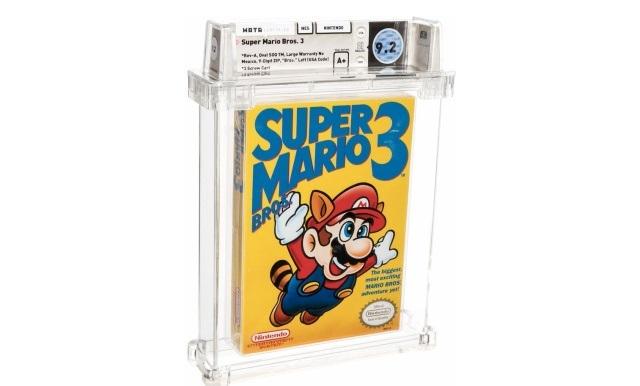 Za priljubljeno računalniško igro Super Mario Bros 3 se je na nedavni dražbi potegovalo kar 20 ponudnikov.
