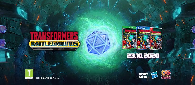 Pisan in lahkoten Transformers: Battlegrounds