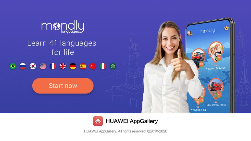 Huawei kot primer dobre prakse izpostavlja vodilno aplikacijo za učenje jezikov Mondly