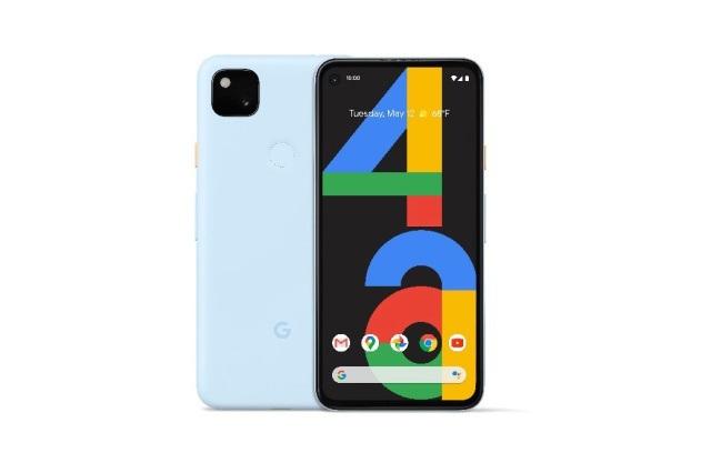 Novi pametni mobilni telefon Google Pixel 4a Barely Blue se vam bo zagotovo takoj prikupil.