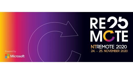 Danes se je začel osrednji del konference NT Remote.