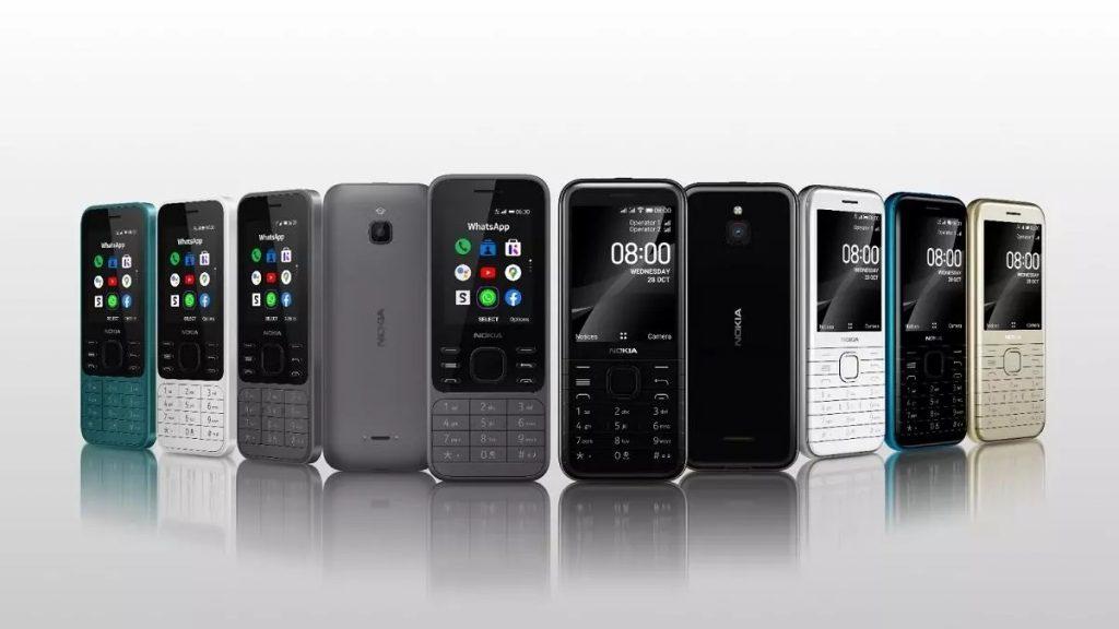 Telefona Nokia 6300 in Nokia 8000 bosta brez težav prepričala ljubitelje retro oblik.