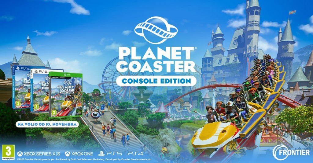 Planet Coaster: upravljaj svoj zabaviščni park