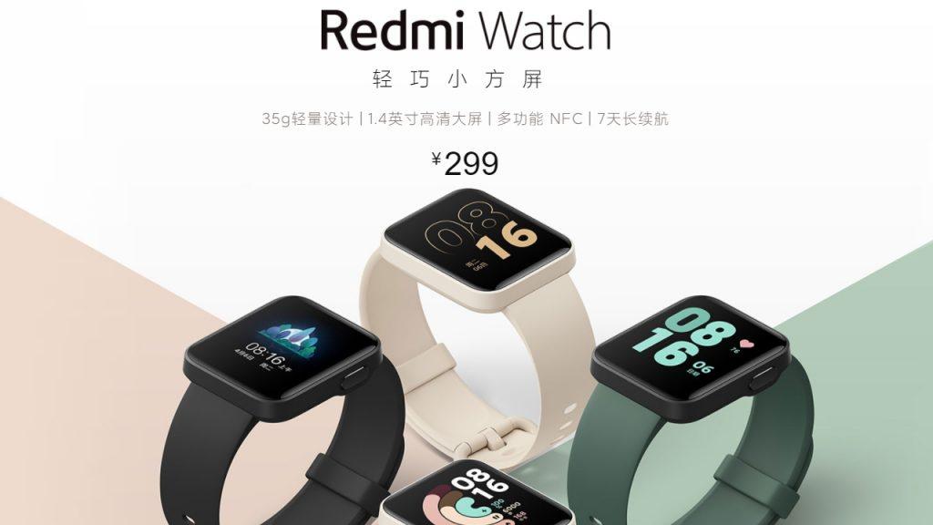Pametno ročno uro Redmi Watch je na kitajskem trgu mogoče kupiti od 1. decembra dalje.