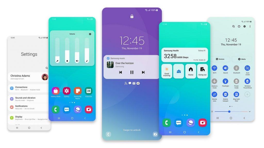 Grafični vmesnik Samsung One UI 3 je zagotovo korak pred konkurenco.