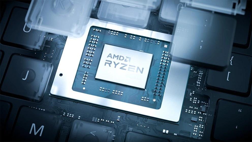 Mobilni procesor AMD Ryzen 9 5900HX bo po potrebi mogoče naviti.
