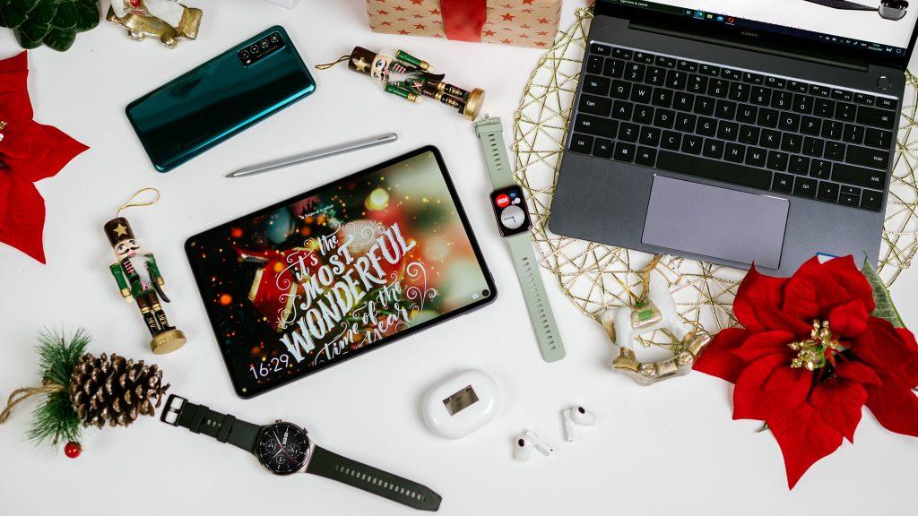 Če še vedno niste našli idealnega darila zanjo, vam Huawei lahko pomaga