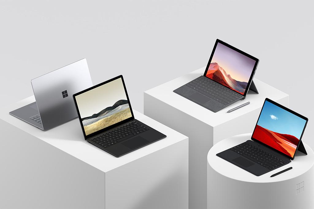 Surface je edina družina računalnikov, pri kateri sta tako strojna kot programska oprema istega proizvajalca.
