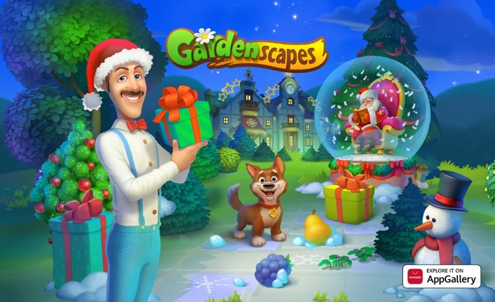 Skočite še danes v živahen svet mobilne igre Gardenscapes
