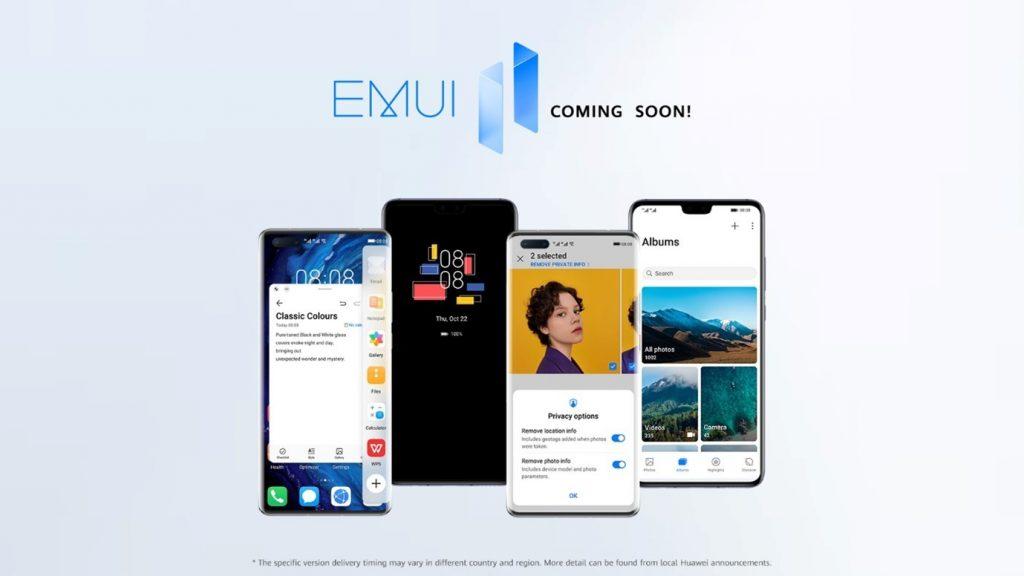Huawei napovedal posodobitev na EMUI 11