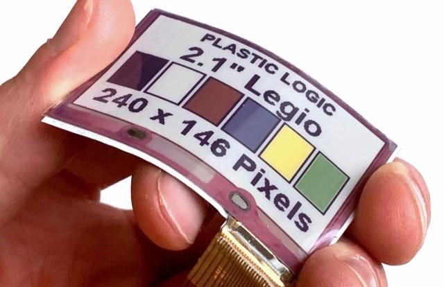 Upogljivi barvni zaslon bo zagotovo popestril naša oblačila.