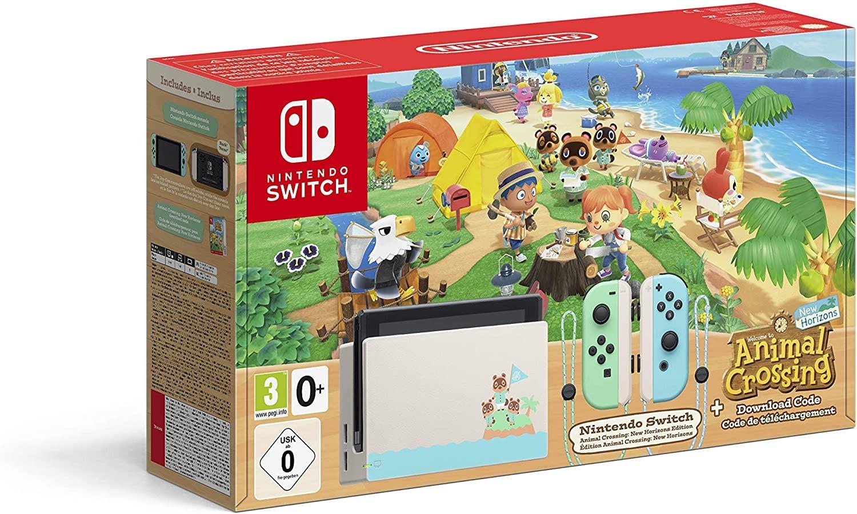 Nintendo Switch Console Animal Crossing
