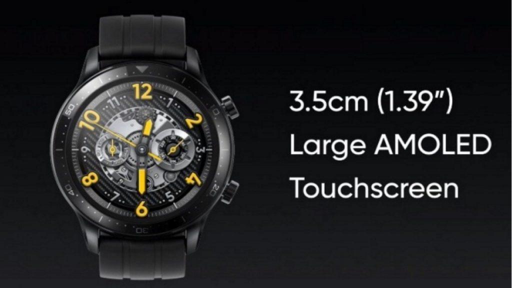 Pametna ročna ura Realme Watch S Pro je primerna predvsem za športnike.