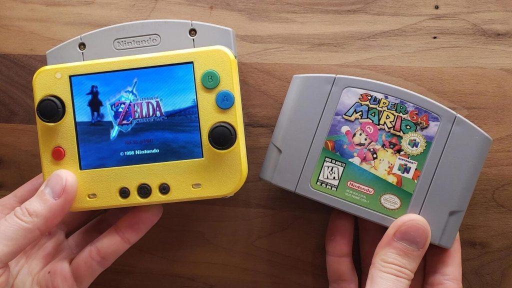 Priljubljena igralna konzola Nintendo 64 je postlala prenosna!
