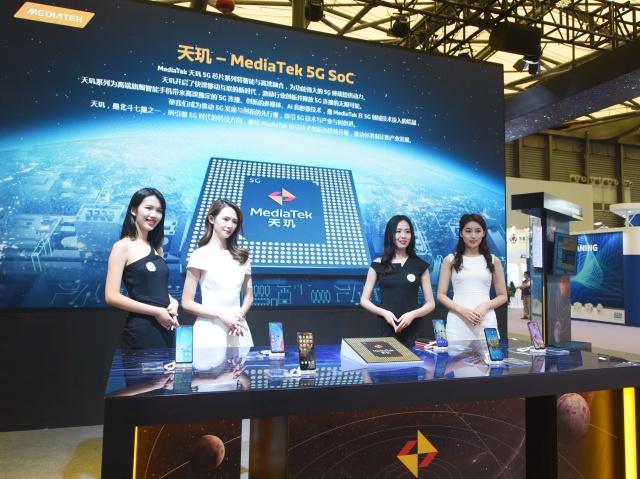 Podjetje MediaTek vse več trga pridobiva tudi na področju mobilnih procesorjev s podporo omrežju 5G.