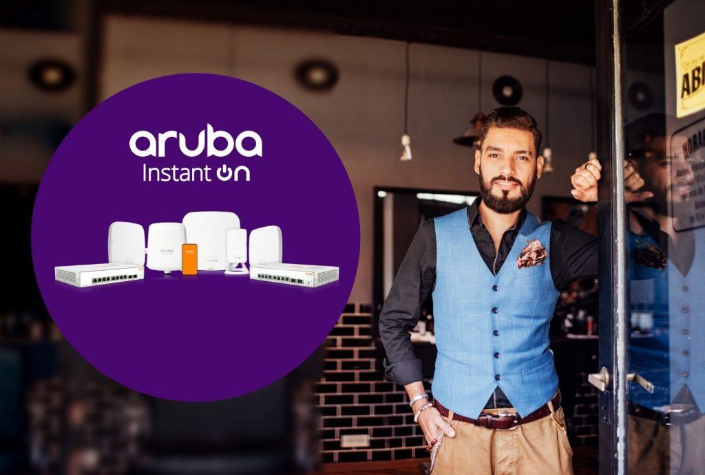 Z nakupom Aruba Instant On do 7 % dodatnega popusta