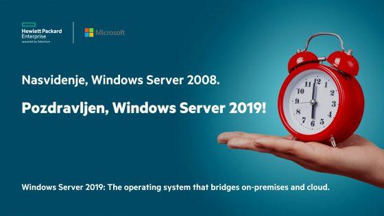 Čas je za Windows Server 2019