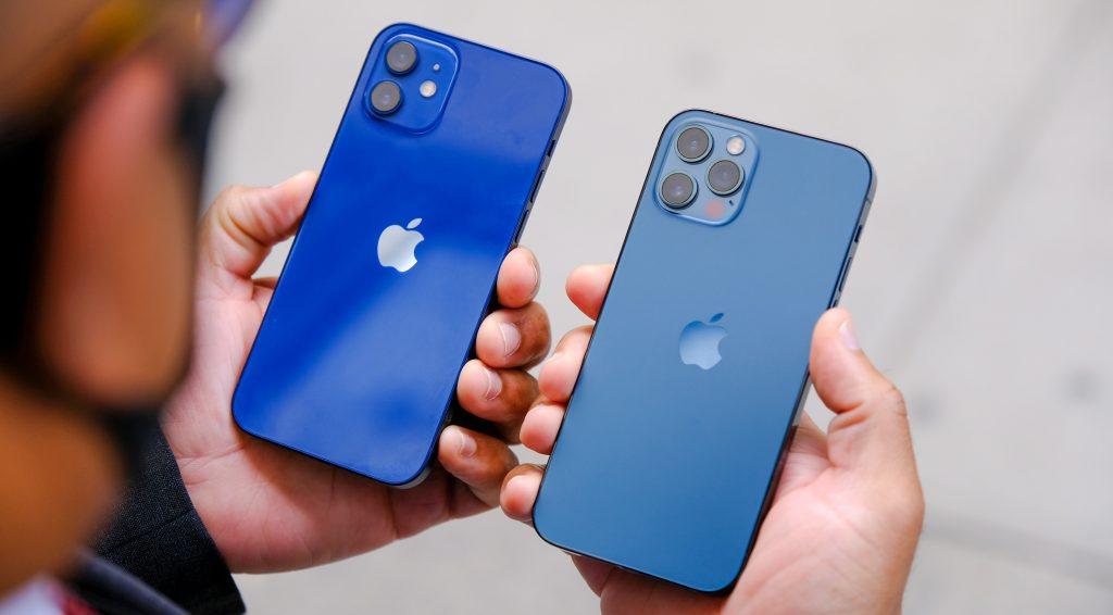 V primeru običajne uporabe mora biti iPhone 12 od občutljive naprave oddaljen vsaj 15 centimetrov.