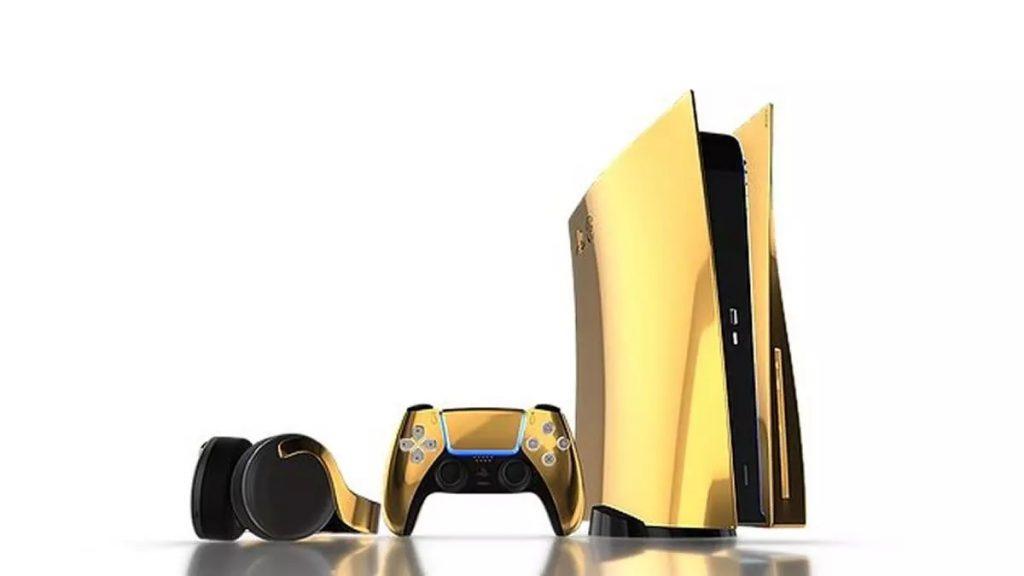Igralna konzola PlayStation 5 je bila opremljena s kar 20 kilogrami 18-karatnega zlata.