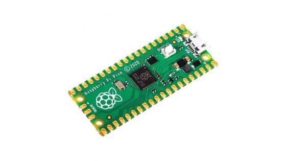 Tukaj je Raspberry Pi Pico
