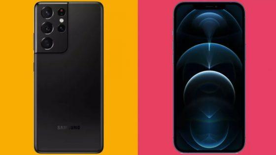 Samsung Galaxy S21 Ultra vs. iPhone 12 Pro Max: Kateri je pravi za vas?