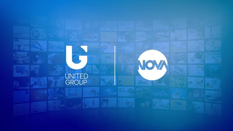 Skupina United Group je zaključila prevzem podjetja Nova Broadcasting Group