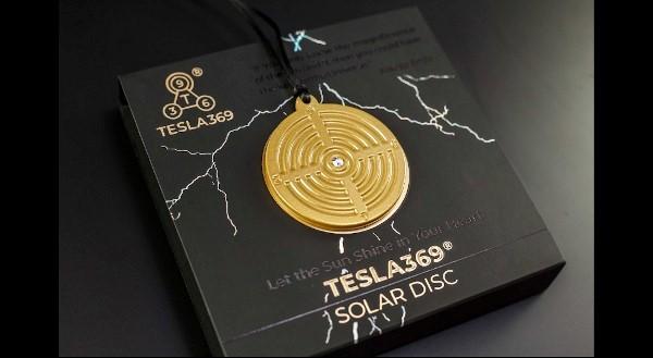Tesla Solar Disc dokazano poveča polje človeške bioenergije.