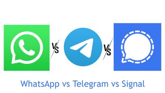 Signal vs. WhatsApp vs. Telegram: Preden se odločite za eno od aplikacij, preberite tole
