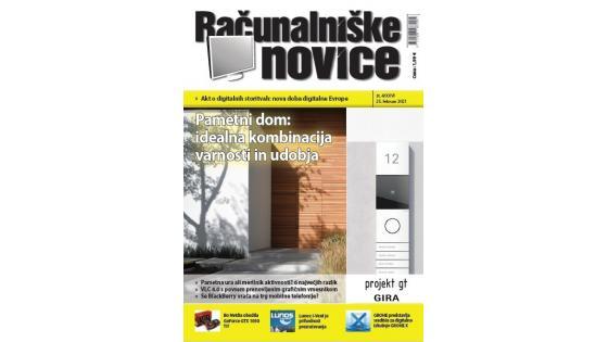 Nova številka revije: Pametni dom - idealna kombinacija varnosti in udobja