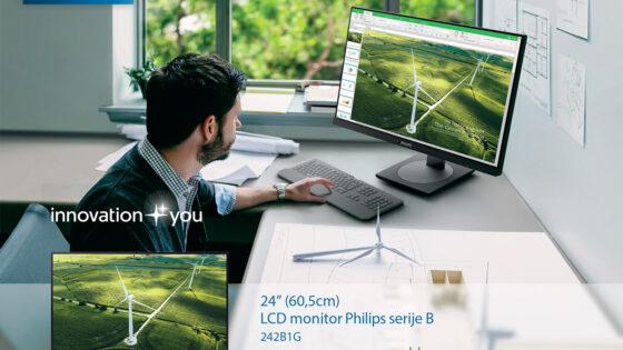 Okolju prijazen Philips 242B1G