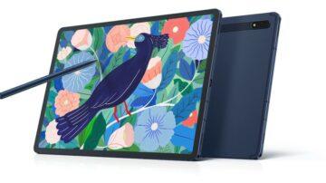 Samsung Galaxy Tab S7 in Tab S7+ sedaj tudi odeta v mistični odtenek modre barve