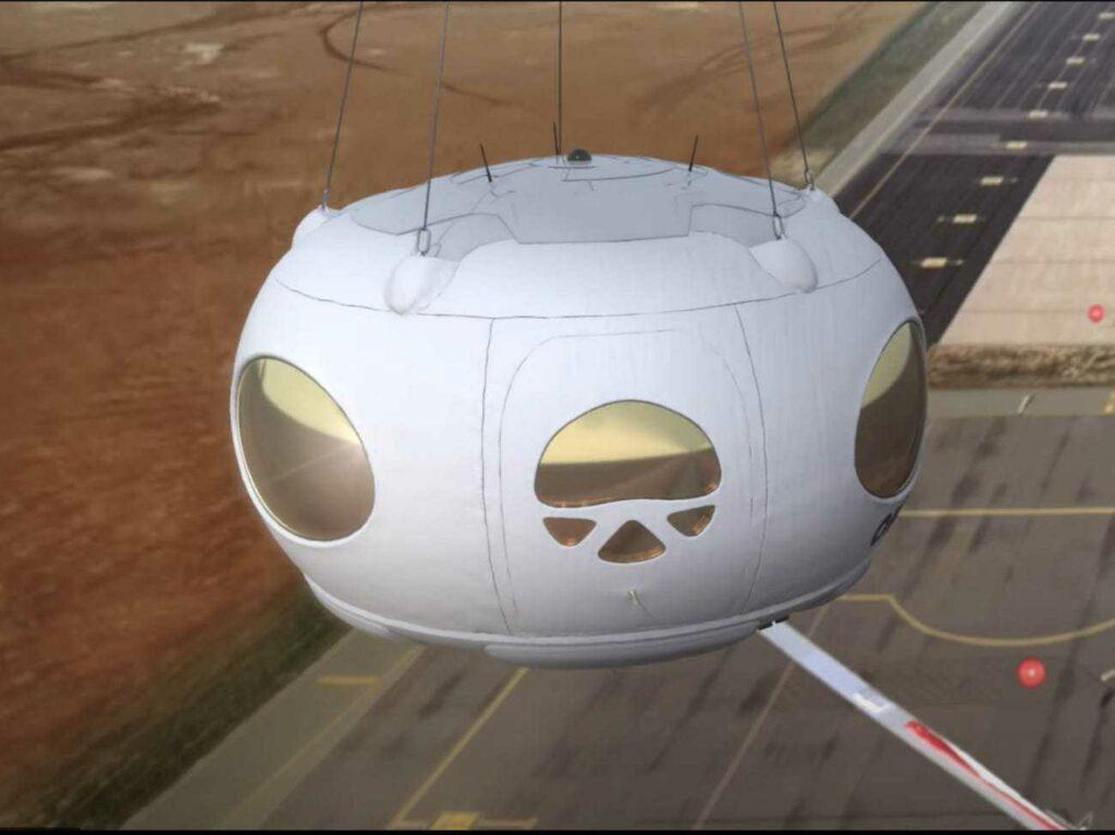 SpaceX ima novo konkurenco, španski helijev balon