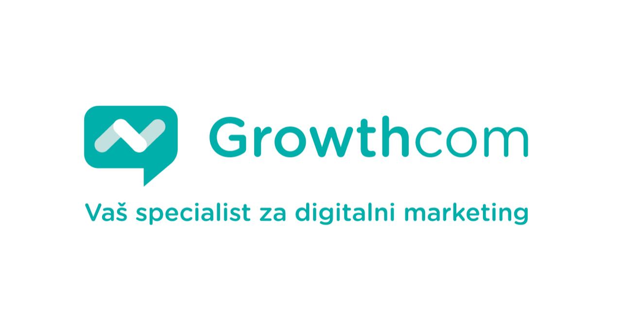 Growthcom - logotip s sloganom - 620x330px