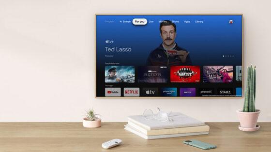 Storitev Apple TV+ lahko sedaj predvajamo tudi na novih napravah Google Chromecast!