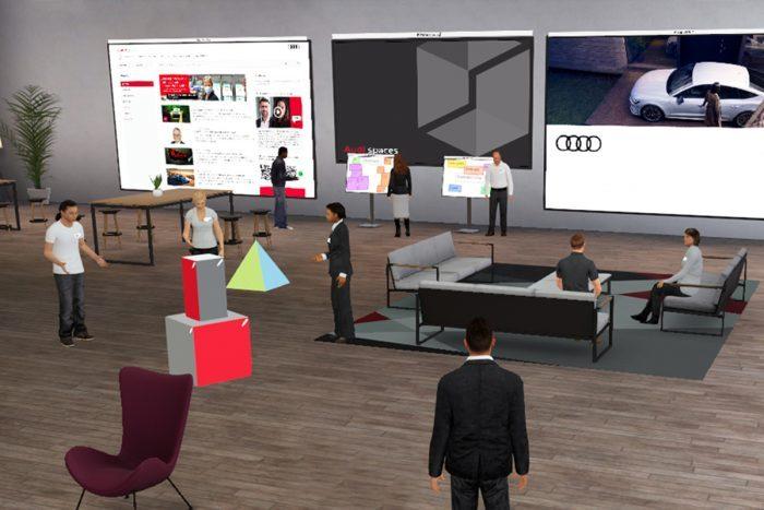 Audi svojim zaposlenim zgradil 3D virtualni svet za delo od doma