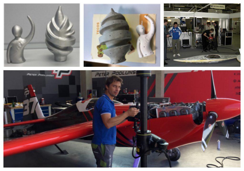 Najsodobnejša oprema zagotavlja 3D-tiskanje kovinskih izdelkov zahtevnih oblik.