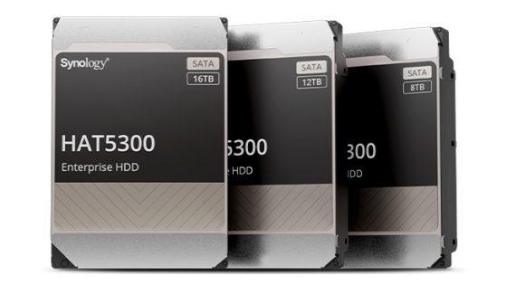 HAT5300 - trdi diski Synology