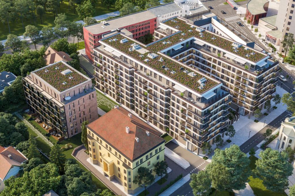 Razkošje v centru Ljubljane dobiva novo podobo