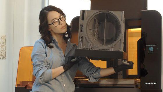 Ugodno 3D tiskanje velikih kosov