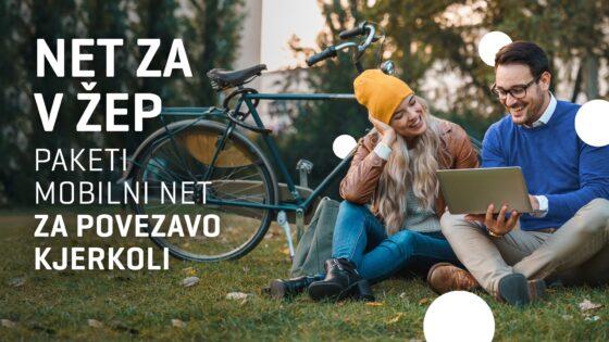 Zaradi vedno večjih potreb po hitrem in zmogljivem mobilnem internetu je Telekom Slovenije povečal količine v paketih za mobilni prenos podatkov