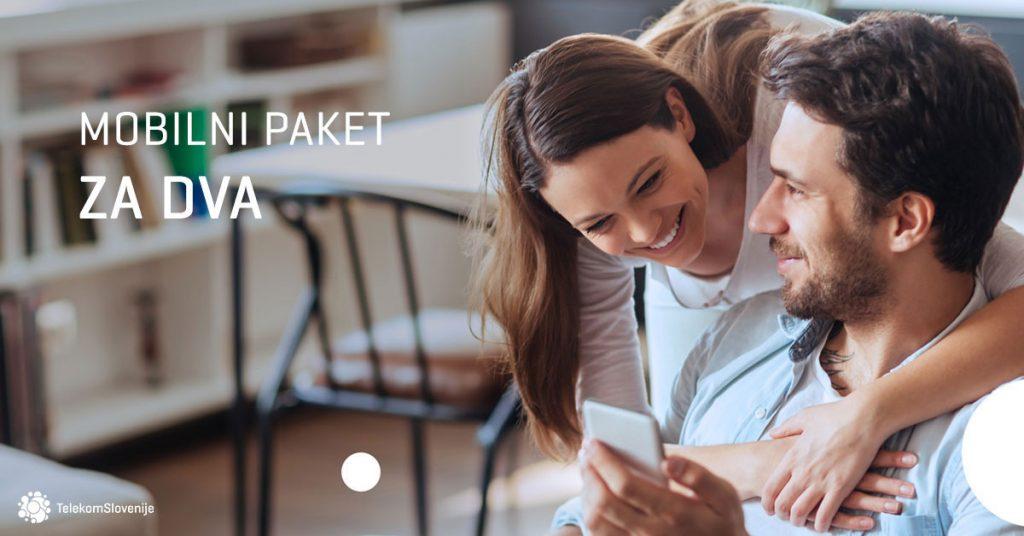 Telekom Slovenije predstavlja novi paket Za dva: dve enakovredni naročniški razmerji na enem računu