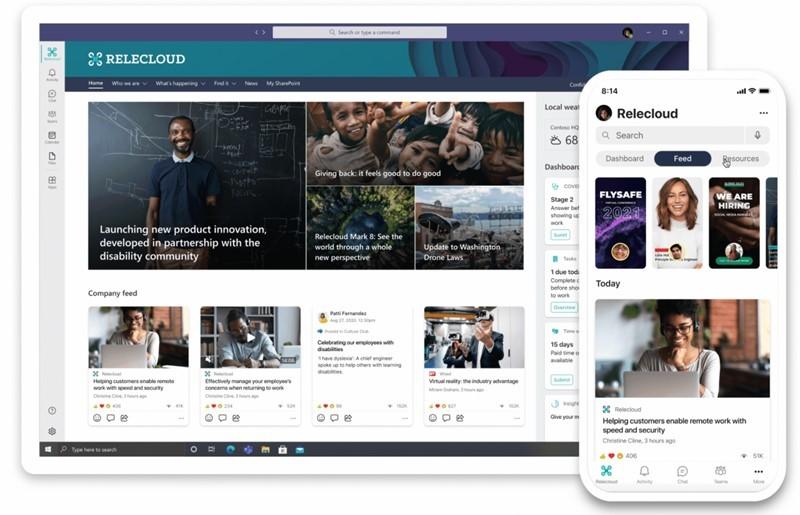 Platforma Microsoft Viva je v prvi vrsti namenjena zaposlenim.