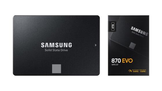 Samsung EVO 870 SSD disk poskrbi za bliskovite hitrosti