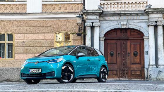 Volkswagen ID.3 predstavlja novo poglavje v mobilnosti