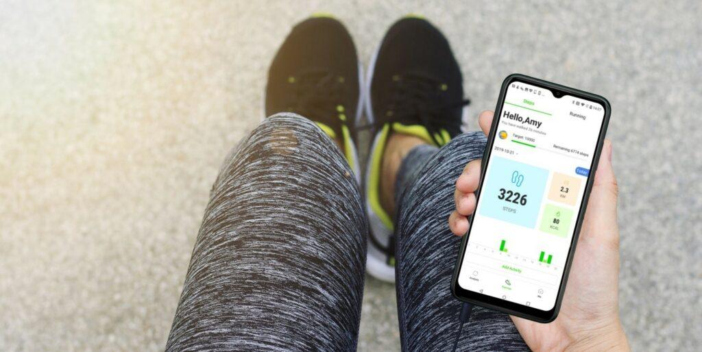 Aplikacija Wiko Health za spremljanje vsakodnevnih treningov