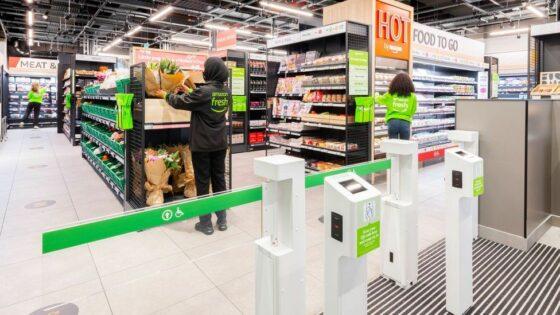 Amazon Fresh odpira vrata v Londonu.